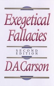 ExegeticalFallacies